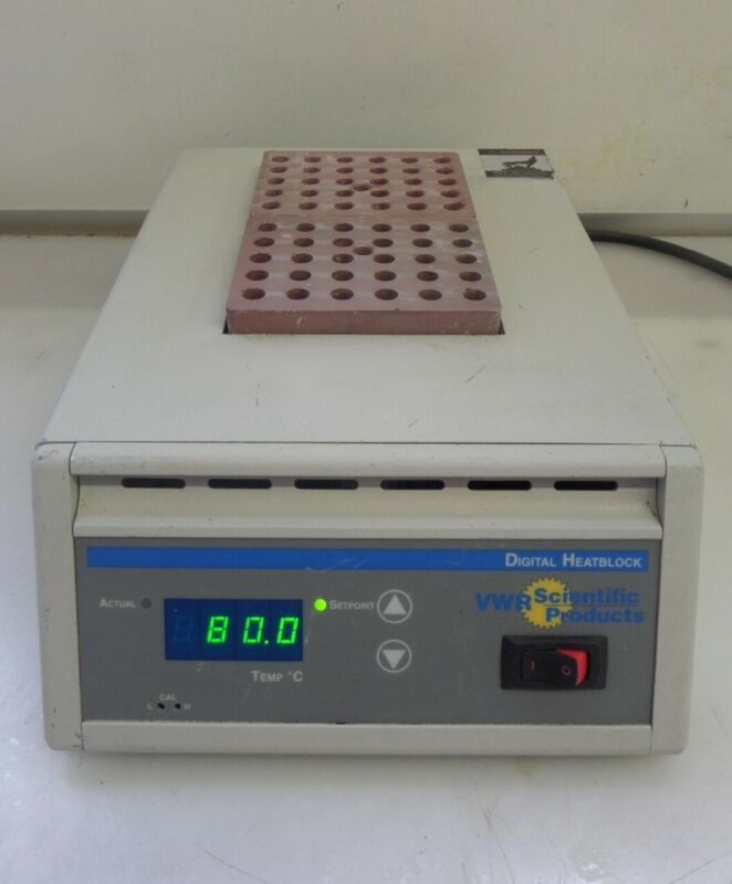VWR Scientific 13259-052 Digital Dry Block Heater