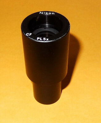 Nikon Cf Pl 5x Microscope Photo Relay Lens