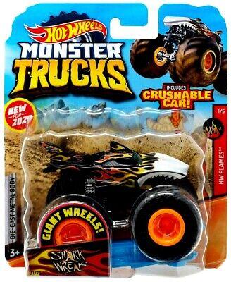 *NEW* 2020 Hot Wheels Monster Trucks SHARK WREAK 31/75 Giant Jam 1:64 Truck VHTF