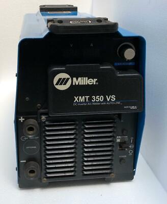 Miller Xmt 350 Vs Dc Inverter Arc Welder With Auto-line 208-575v For Parts 3