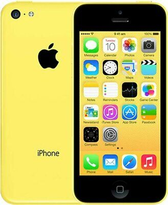 Apple iPhone 5c - 16GB - Yellow (AT&T) A1532 (GSM) - Fully Tested