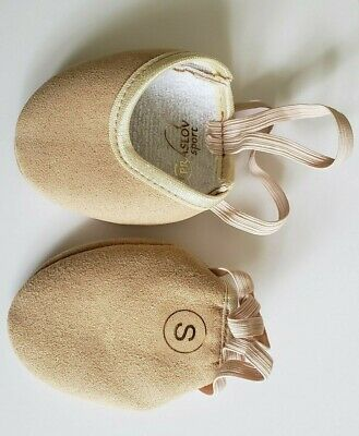 16bf337a7175 Rhythmic Gymnastic Praslov Sport Soft Half Shoes Toe Shoes Girls New