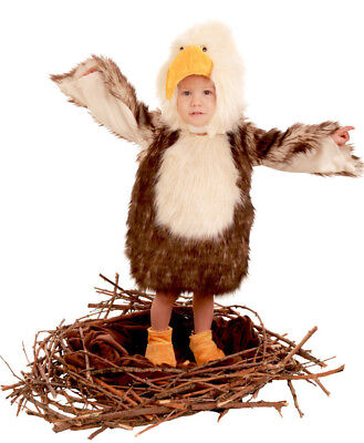 Baby Bird Costume (Baby Bald Eagle Bird Costume Princess Paradise 12 18 24 months 2T 2 3T 3 4T 4)