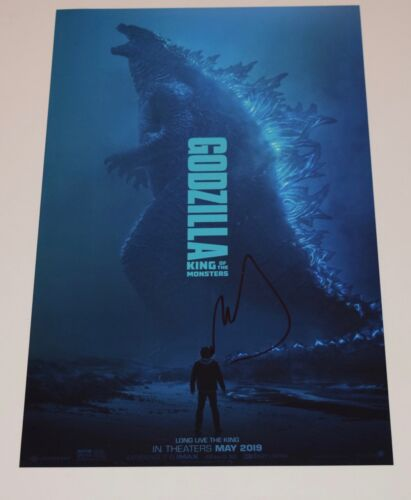 Michael Dougherty Signed Godzilla King of the Monsters 11x17 Poster Photo COA