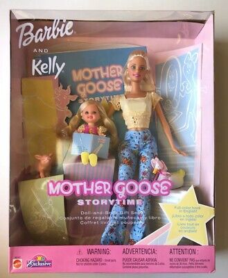 Barbie & Kelly Mother Goose Storytime Toys R Us Exclusive Mattel 2002 56143