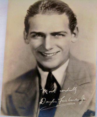 Antique Studio Photograph of Douglas Fairbanks Jr.