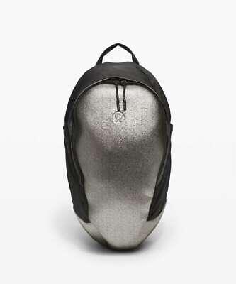 NWT Lululemon Running Backpack *13L Black Sparkle $128 Reflective