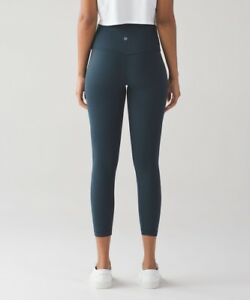 Lululemon New With Tags Nocturnal Teal Align Pant II size 8