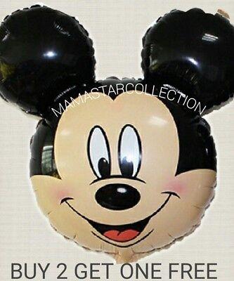 Mickey Mouse Balloon (New MICKEY DISNEY  MOUSE Balloons Birthday BABY SHOWER balloon)