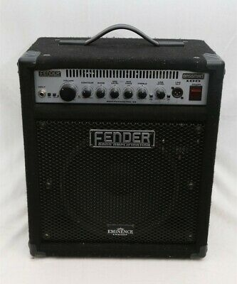 Fender BASSMAN 100 Bass Guitar Combo Amplifier