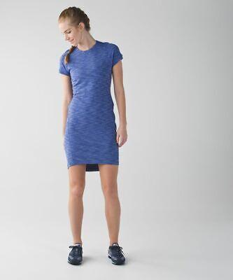 Lululemon &go Where-To Dress Heathered Sapphire Blue Size 2