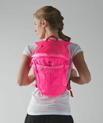 Lululemon Run All Day Backpack Neon Pink