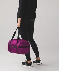 Lululemon Run Ways Duffel Bag Regal Plum NWT Beautiful