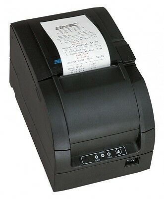 Aldelo Btp-m300 Pos Usb Serial Restaurant Impact Printer Black Autocutter New