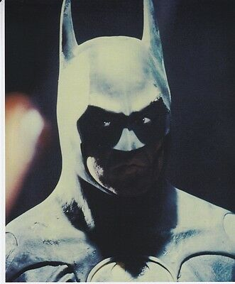"Batman 1989 Michael Keaton 8 1/2"" X 11"" Color Photo / Print New Rare"