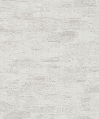 4,87€//1qm Tapete Vlies Steinmauer 3D Granulat grau rose Imagine Marburg 58410