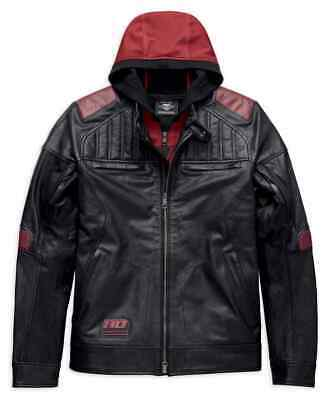 97026-19VM Harley-Davidson® Men's Donhill 3-IN-1 Midweight Leather Jacket L