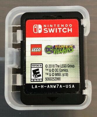 Lego DC Super-Villains (Nintendo Switch, 2018), Cartridge Only