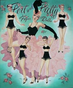 Pert-and-Pretty-Paper-Dolls-Book