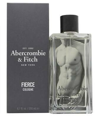 FIERCE BY Abercrombie & Fitch For Men 6.7 oz / 200ml Eau de Cologne New & Sealed