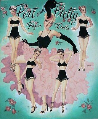 Pert and Pretty Paper Dolls Book
