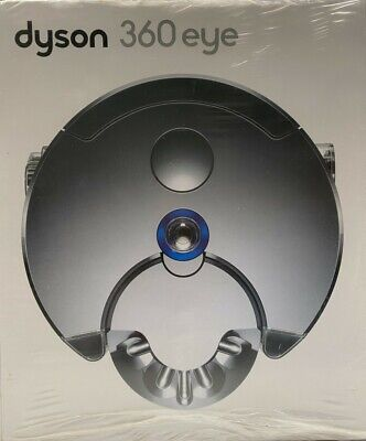 BRAND NEW Dyson 360 Eye RB01NB Robot Vacuum Cleaner Cyclone Nickel Blue SEALED