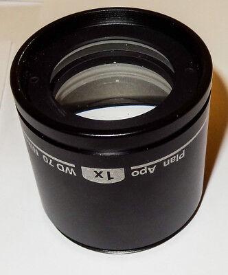 Nikon Stereo Microscope Objective Lens Ed Plan Apo 1.0x Mnh44100