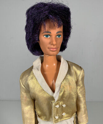 Jem And The Holograms Rio Boyfriend Doll 80s Rock N Gold Vintage