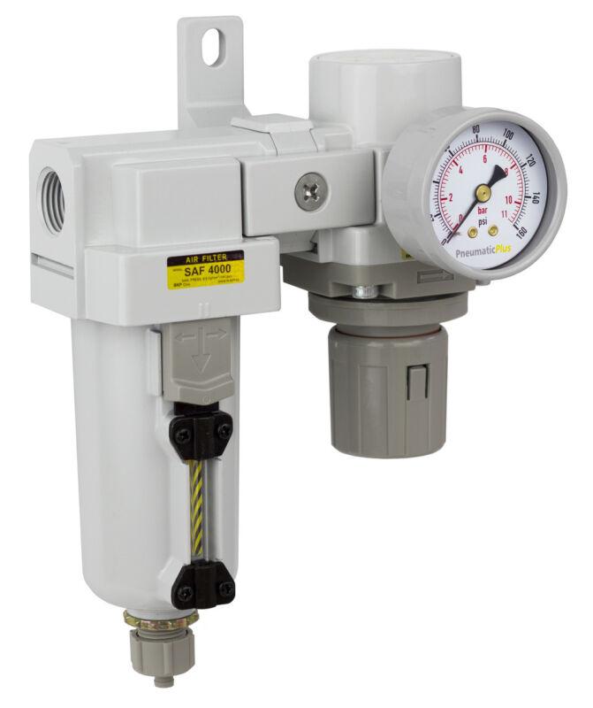 "FactoryDirect Compressed AIR FILTER REGULATOR MODULAR COMBO 1/2"" NPT"