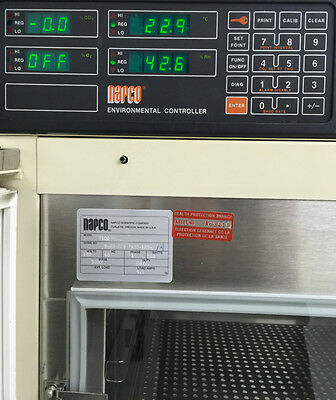 Napco 7100 Lab Incubator Temperature Humidity And Co2 Control