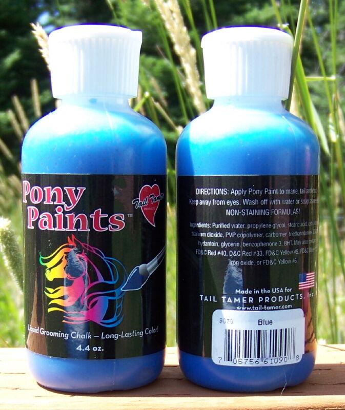 Tail Tamer - Pony Paints 4.4 oz (Blue)