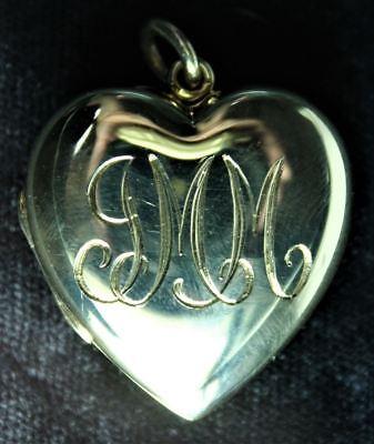 (Tiffany & Co. 14K Yellow Gold Pendant Locket)