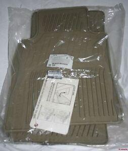 2007/2008 Infiniti G35 Rubber Floor Mats - GENUINE FACTORY OEM ACCESSORY - BEIGE