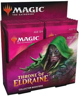 Magic the Gathering Throne of Eldraine Collectors Booster Box 12 Packs