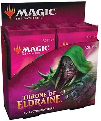 Throne of Eldraine COLLECTOR's Booster Inner Carton box (6 boxes) MTG English