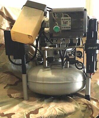2006 Jun-air 15 Liter4 Gallon Quiet Medicaldental Compressor 1263 Hrs.