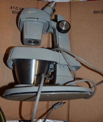 Gia Gemolite Mark V Jewelry Microscope Bausch And Lomb Stereozoom 4 Optics