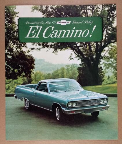 1964 Chevrolet Chevy EL CAMINO Original Sales Dealer Brochure