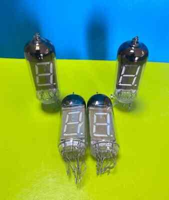4pcs Iv-11 -11 Nixie Tubes Soviet Numeric Indicator For Clock Used