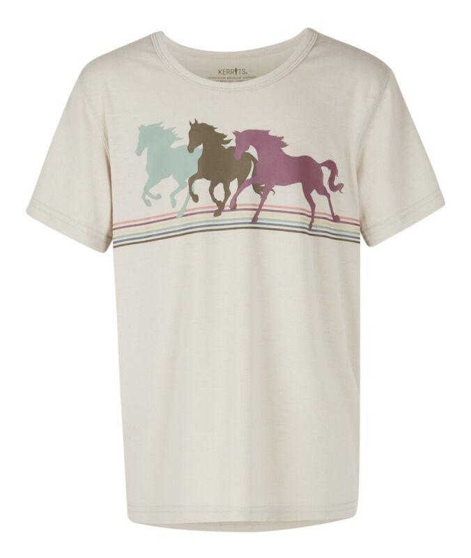 Kerrits Kids Pony Power Tee - Vanilla