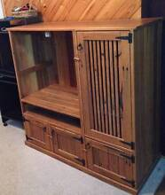 Hardwood TV Cabinet Hornsby Heights Hornsby Area Preview