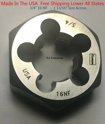 Hanson 6527 Die 5//16-18 NC 1 Hex for Tap Die Extraction