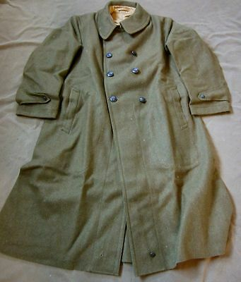 WWI US M1912 WINTER WOOL OVERCOAT- LARGE