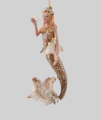 Mermaid Dangle Ornament - Christmas - Katherine's Collection 28-728607