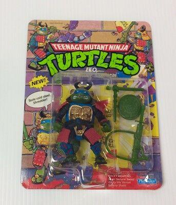 Vintage Teenage Mutant Ninja Turtles, Leo Sewer Samarai, Playmates Toys 1990 MOC