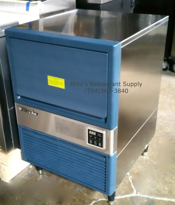 New 150 Lb Ice Machine & Storage Bin Blue Air Blui-150a #4430 Commercial Nsf