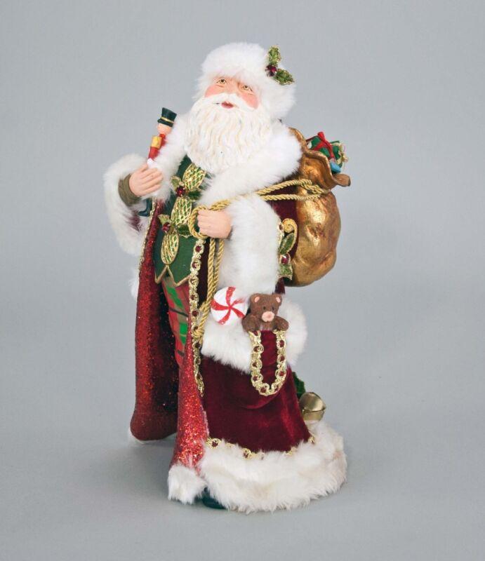 Traditional Santa Doll Figurine - Christmas - Katherine's Collection 28-728585