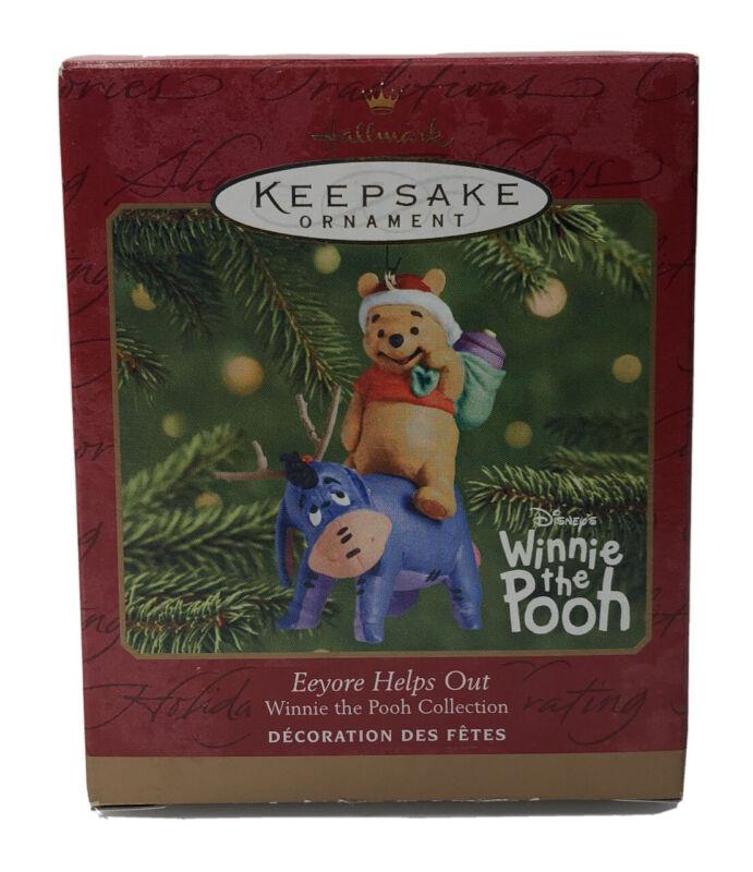 Hallmark Keepsake 2001 Disney's Winnie The Pooh Eeyore Helps Out Ornament