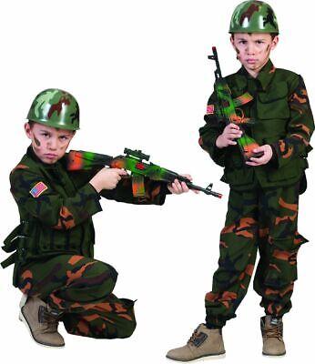 Kostüm Soldat Army Special forces Gr. 128 camouflage - Special Forces Kostüme