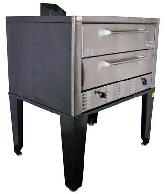 Peerless Cw61p - 2 Deck Floor Model Gas Pizza Oven
